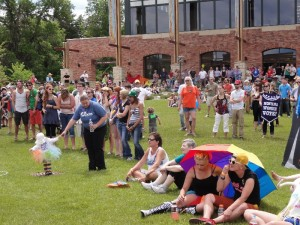 Gay Rally Bozeman Montana